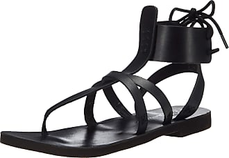 Free People Vacation Day Wrap Sandal Black 38 (US Womens 8)