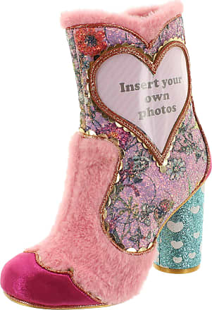 Irregular Choice Picture Perfect Womens Heeled Ankle Boot (6.5 UK, Pink (Pink A))