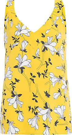 Maria Filó Regata Floral - Amarelo