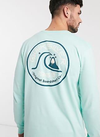 Quiksilver Close Call - T-shirt a maniche lunghe azzurra-Blu