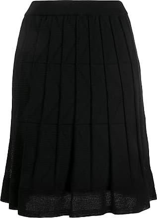 M Missoni short pleated skirt - Preto