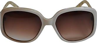 4fcb0aad54 Oscar De La Renta Cream With Multi-pearl Interior Lucite Sunglasses