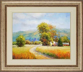 Paragon Picture Gallery The Valley Road Framed Wall Art - 3315
