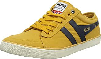 Gola Men Comet Sun/Navy Sneakers, Yellow (Sun/Navy Ye Blue), 10 UK ( 44 EU)