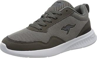 Kangaroos Mens Kl-a Essent Low-Top Sneakers, Grey (Steel Grey/Jet Black 2019), 9 UK