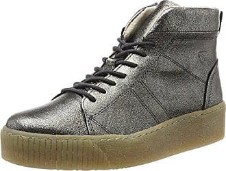 00561cdff93db2 Tamaris Damen 25758 Hohe Sneaker Silber (Pewter) 38 EU