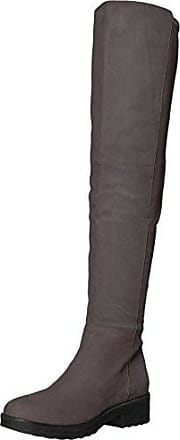 Eileen Fisher Womens LOFT Over The Over The Knee Boot, Graphite, 7.5 M US