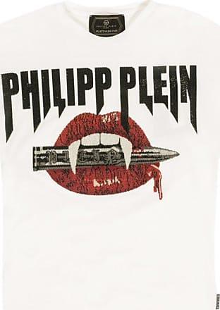 Philipp Plein T-shirt With Logo Mens White
