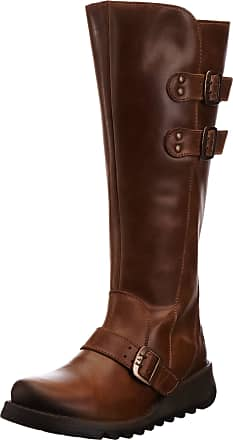 FLY London Solv Womens Boots - Camel, 2.5 UK (35 EU)