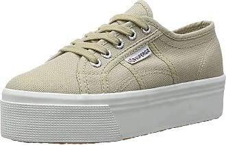 Superga 2790 ACOTW LINEA UP AND, Womens Low-Top Sneakers, Grau (Taupe), 7.5 UK (41.5 EU)