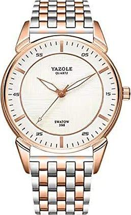 Yazole Relógio Aço Inoxidável de Luxo Yazole Z398 Original (1)