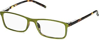 Peepers Unisex-Adult Adorn 2379225 Rectangular Reading Glasses, Green, 2.25