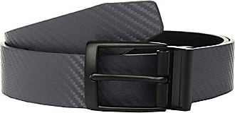 dark grey//deep night 42 Nike Mens Sleek Modern Covered Plaque Belt