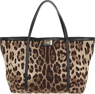 Dolce & Gabbana gebraucht - Dolce & Gabbana-Shopper im Animal-Design - Damen - Bunt / Muster