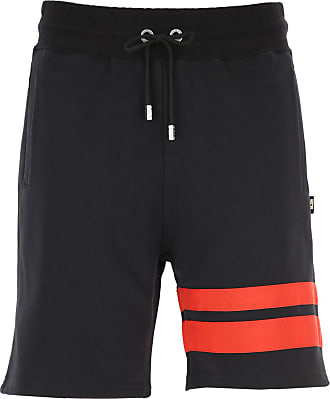 GCDS Shorts for Men On Sale, Black, Cotton, 2019, XS (EU 44) S (EU 46) M (EU 48) L (EU 50)
