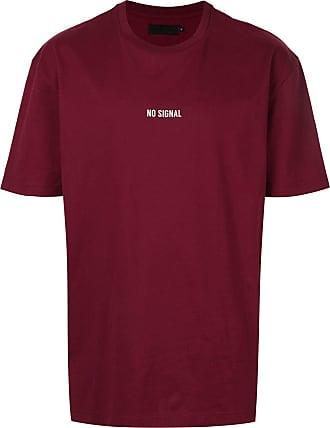 Off Duty Camiseta No Signal - Vermelho