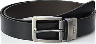 ea60e713374 Levi s BIG BEND Ceinture Homme Noir (Regular Black 59) 110 (Taille  fabricant