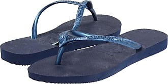 Havaianas Slim Navy Womens New Summer Beach Flip Flops-41