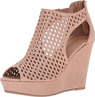 71f52ad8293 Chinese Laundry Womens Indie Micro Suede Wedge Sandal