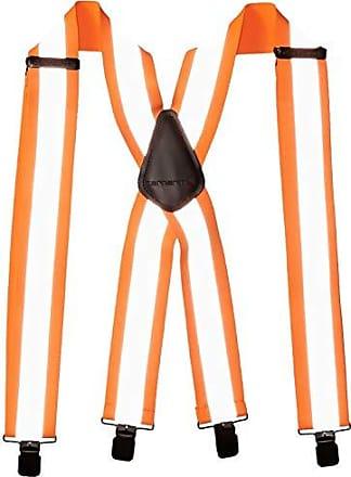 Carhartt Work in Progress Mens Utility Suspender, High Visibility Orange, ONE SIZE