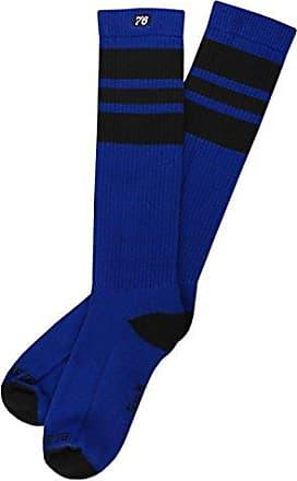 Hohe Retro Socken mit Streifen Wei/ß Schwarz /& gr/ün gestreift Spirit of 76 Del Mar Hi stylische Unisex Kniestr/ümpfe