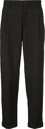 Durban casual tapered trousers - Black