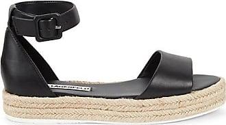 Karl Lagerfeld Adara Leather Espadrille Sandals