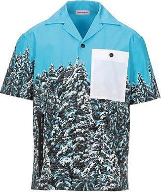 Green Shirt  Palm Angels  Langermede skjorter - Herreklær er billig
