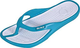 Generic Unisex Toe Post Flip Flops Open Back Slip On Slippers Shoes (6 UK, Turquoise)