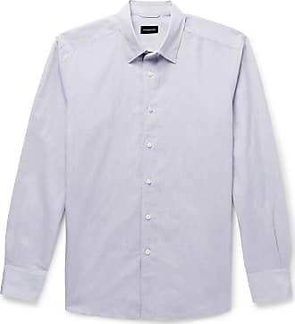 Ermenegildo Zegna Linen And Cotton-blend Shirt - Gray