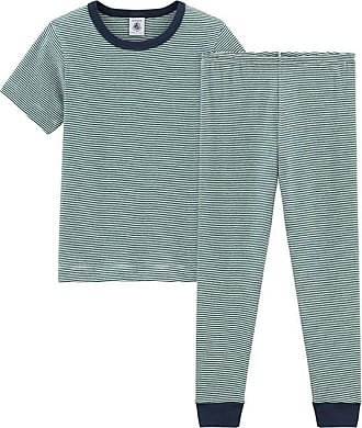 b86e92163 Petit Bateau Pijama manga corta de punto para niño