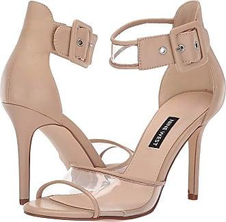 235b0b68345 Nine West Mila Heeled Sandal (Light Natural) Womens Shoes