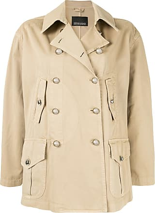 Ermanno Scervino double breasted jacket - Brown