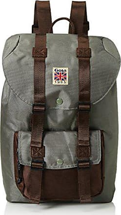 5513ac8315 Gola Bellamy Tech, Sac à dos Mixte Adulte - Vert (Dark Khaki/Brown