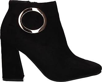 Swankyswans Clara Zip up Buckle Detail Womens Warm Winter Chelsea Ankle Boots Black UK Size 3 / EU 36