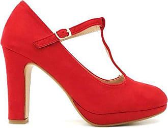 High Heels * Pumps* Rockabilly* Riemchen 39* 50er Leder