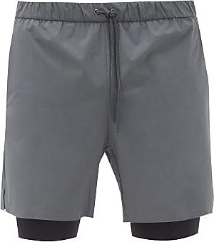 Jacques Compression 01 Technical Shorts - Mens - Grey Multi