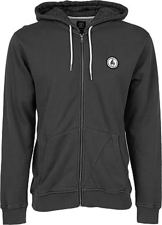 Volcom Mens Don Pendleton Zip Sweatshirt - black - S