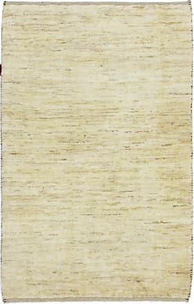 Nain Trading 133x86 Handknotted Persian Gabbeh Rug Beige (Wool, Iran/Persia)
