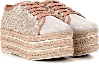 Damannu Shoes Tênis Flatform Samantha - Cor: Off White - Tamanho: 39