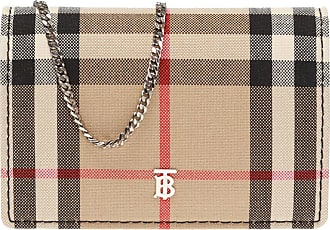 Burberry Card Holder On A Chain Womens Beige