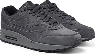 new styles edc48 f2552 Nike Air Max 1 Premium Suede Sneakers - Charcoal