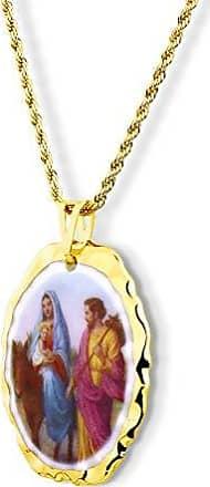 Design Medalhas Pingente Medalha Nossa Senhora Do Desterro Ouro