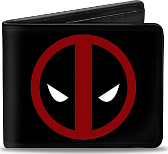 Multicolor Buckle-Down Mens Bifold Wallet Deadpool 4.0 x 3.5