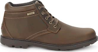 Rockport Mens Rgd BUC Wp Boot Shoes, 6.5 W UK, Tan