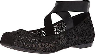 Jessica Simpson Womens MAGGDA Ballet Flat, Black, 7.5 Medium US