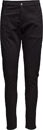 Fiveunits Jolie 606 Gun Black, Pants Raka Jeans Svart FIVEUNITS