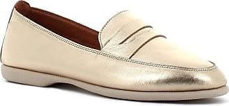 Generico Blender Leather Loafers Rubber Bottom, Platinum Size: 6 UK