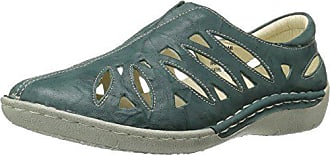 Propét Propet Womens Cameo Loafer Flat, Aqua, 8.5 Medium US