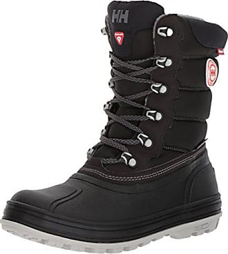 c5bab34c1f Helly Hansen Womens Tundra Cold Weather Boot Snow, Jet Black/Charcoal/ANG,